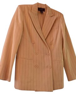 Ralph Lauren Vanilla with Black Pin Stripe Blazer