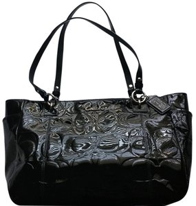 Coach Patent Tote Shoulder Bag