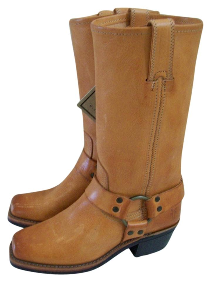 Frye New Tan 12r Harness Leather New Frye Boots/Booties 2ac9d0