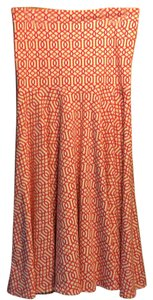 J.McLaughlin short dress Orange pink and white Stretchy Comfortable on Tradesy