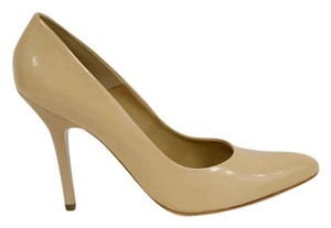 MS Shoe Designs Nude Pumps