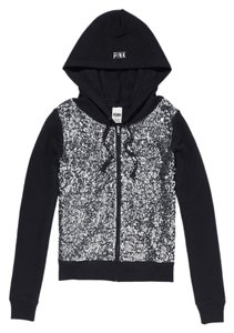 PINK Limited Edition Sequin Bling Fall Spring Sweatshirt