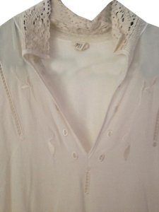 Anthropologie Top Beige