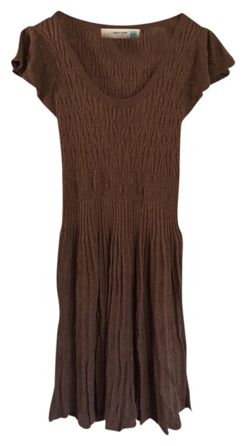 Other short dress Brown Anthropologie Sweater on Tradesy