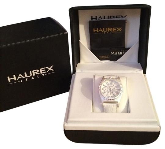Preload https://item4.tradesy.com/images/haurex-italia-women-s-promise-white-dial-watch-1734548-0-0.jpg?width=440&height=440