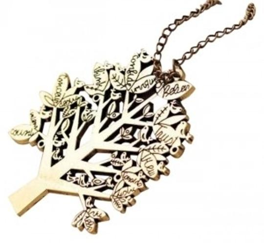 Preload https://img-static.tradesy.com/item/173456/bronze-europe-vintage-palace-bird-christmas-tree-letters-chain-pendant-necklace-0-0-540-540.jpg