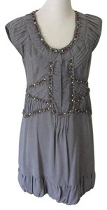 Nanette Lepore short dress Grey on Tradesy