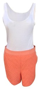 Skies Are Blue Dress Shorts Coral