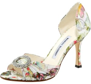 Manolo Blahnik Cream Formal