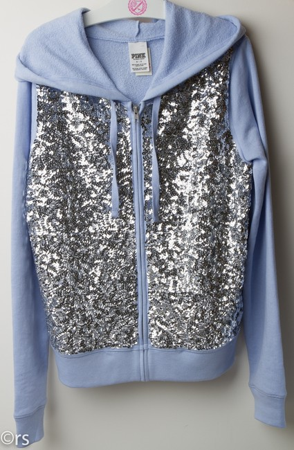PINK Sequin Limited Edition Fall Spring Bling Sweatshirt