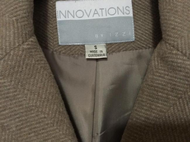 Innovations by IZZI Wool Cashmere Classic Warm Lined Double-breasted Trench Coat