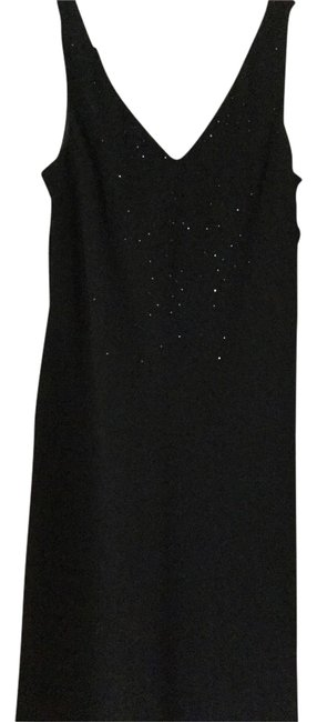 Preload https://item4.tradesy.com/images/jones-new-york-black-knee-length-cocktail-dress-size-10-m-1734653-0-0.jpg?width=400&height=650