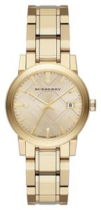 Burberry Burberry Classic Check BU9134 Gold Plated Stainless Bracelet Watch