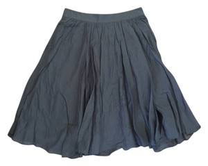 J.Crew Circle Skirt Pewter