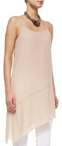 Eileen Fisher Silk Georgette Asymmetric Dress