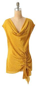 Anthropologie Top Golden yellow