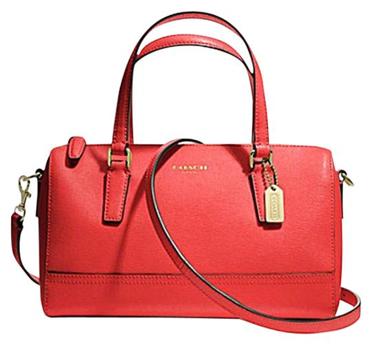 Coach 49392 Crossbody Satchel in love red
