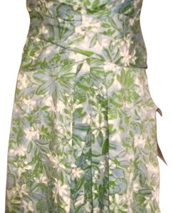 Periwinkle, Lime, White Maxi Dress by Liz Claiborne