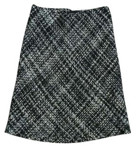 H&M Skirt Black white gray