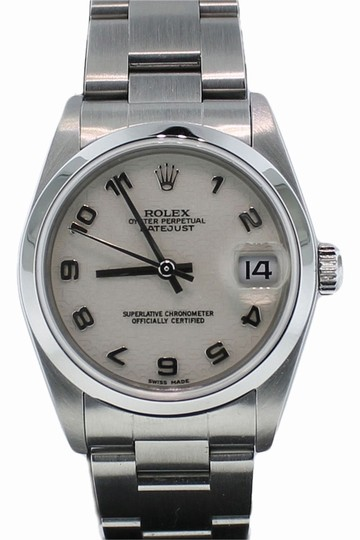 Preload https://item4.tradesy.com/images/rolex-ladies-rolex-oyster-perpetual-stainless-steel-anniversary-dial-28mm-watch-78050-1734713-0-0.jpg?width=440&height=440