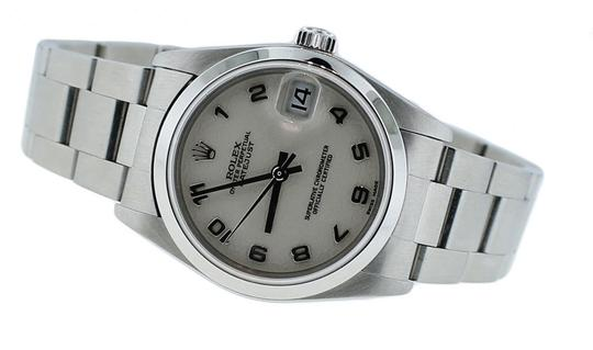 Rolex Ladies Rolex Oyster Perpetual Stainless Steel Anniversary Dial 28mm Watch 78050