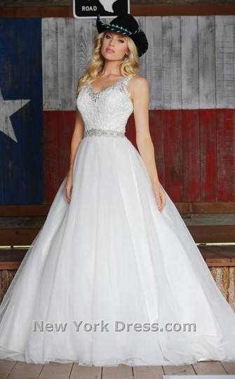 Preload https://item5.tradesy.com/images/davinci-bridal-white-lace-50313-formal-wedding-dress-size-14-l-1734789-0-0.jpg?width=440&height=440
