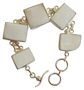 Elle Cross Elle Cross White MOP Bracelet in Sterling Silver 925 7.5 - 8 1/4