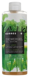 KORRES Korres Bath ShowerGel Basil Lemon A Green Spice Of Dazzling Freshness