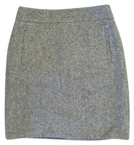 Banana Republic Tweed Mini Skirt Brown tweed