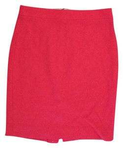 J.Crew Wool Skirt Red