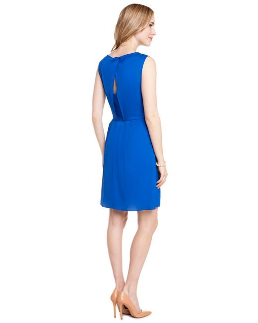 Catherine Catherine Malandrino short dress Blue on Tradesy