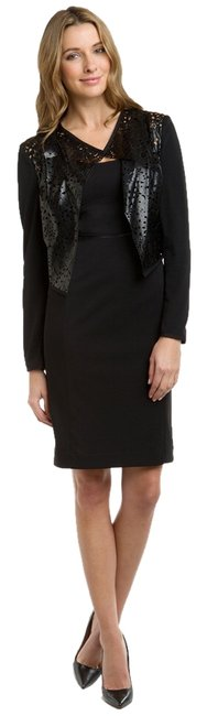 Anne Klein Ponte With Removable Jacket Dress