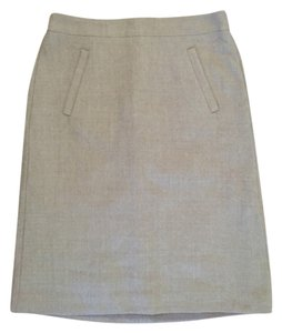 J.Crew Wool A-line Skirt Tan