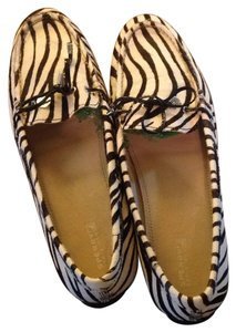 Sperry Zebra black and white Flats