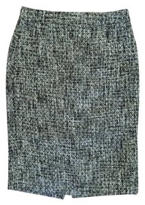 J.Crew Pencil Skirt Black and white tweed