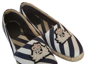 Christian Louboutin Blue and white Flats