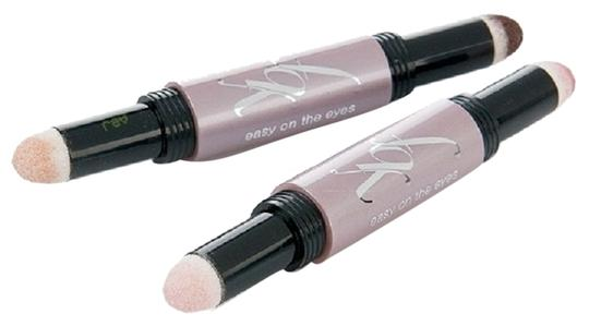 Your Best Friend YBF Your Best Friend Easy On The Eyes Duo Make Up Pink Mauve Ivory Cocoa Set of 2