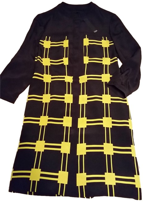 Preload https://item2.tradesy.com/images/tibi-black-with-yellow-knee-length-workoffice-dress-size-4-s-1735106-0-0.jpg?width=400&height=650