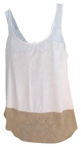 Ann Taylor Top White/Tan