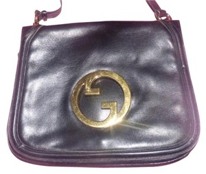 Gucci Equestrian Accents Blondie Buttery Leather Bold Gold Accents Deep Hobo Bag