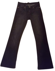 Rock & Republic And & Kasandra Studded Boot Cut Jeans-Dark Rinse