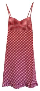 Paul Frank short dress Red gingham on Tradesy