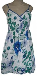 SPEED CONTROL short dress MULTI FLORAL PRINT on Tradesy