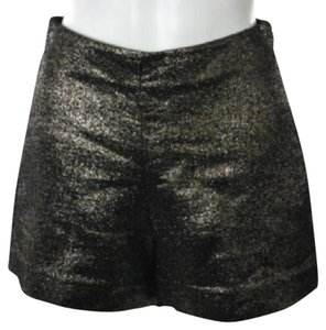 Diane von Furstenberg Dress Shorts Gold