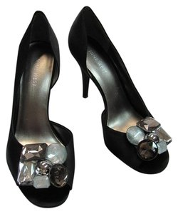Nine West Very Good Condition Size 6.50 Black Formal