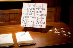 Lillian Rose Guest Book Sign Reception Decoration