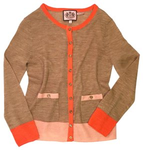 Juicy Couture Alpaca Sweater Casual Cardigan