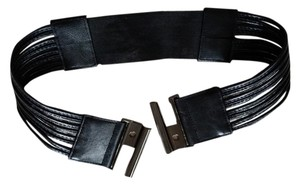 Unknown One Size fits all Stretch Leather Belt
