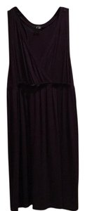 Theory short dress Maroon on Tradesy