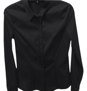 Escada Button Down Shirt Black